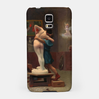 Thumbnail image of Pygmalion and Galatea by Jean-Léon Gérôme Classical Art Reproduction Samsung Case, Live Heroes