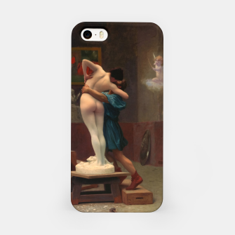 Thumbnail image of Pygmalion and Galatea by Jean-Léon Gérôme Classical Art Reproduction iPhone Case, Live Heroes