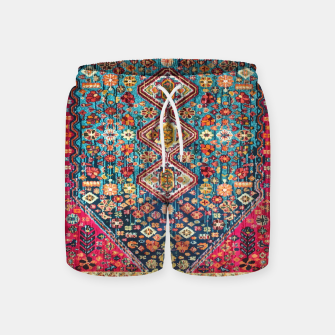 Thumbnail image of Heritage Oriental Vintage Moroccan Style Swim Shorts, Live Heroes