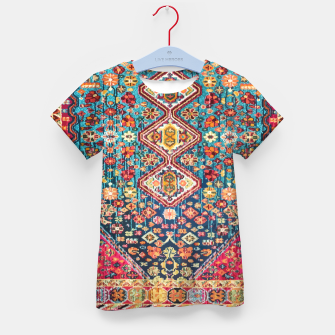 Thumbnail image of Heritage Oriental Vintage Moroccan Style Kid's t-shirt, Live Heroes