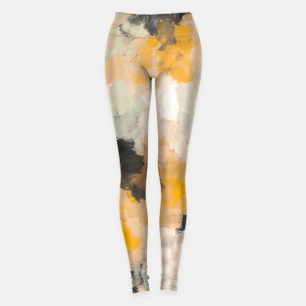 Thumbnail image of Warm brush strokes 30 Leggings, Live Heroes