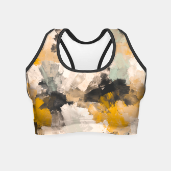 Thumbnail image of Warm brush strokes 30 Crop Top, Live Heroes