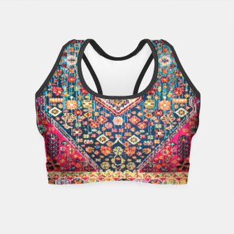 Thumbnail image of Heritage Oriental Vintage Moroccan Style Crop Top, Live Heroes