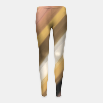 Thumbnail image of Sunset rays 85 Leggings para niña, Live Heroes
