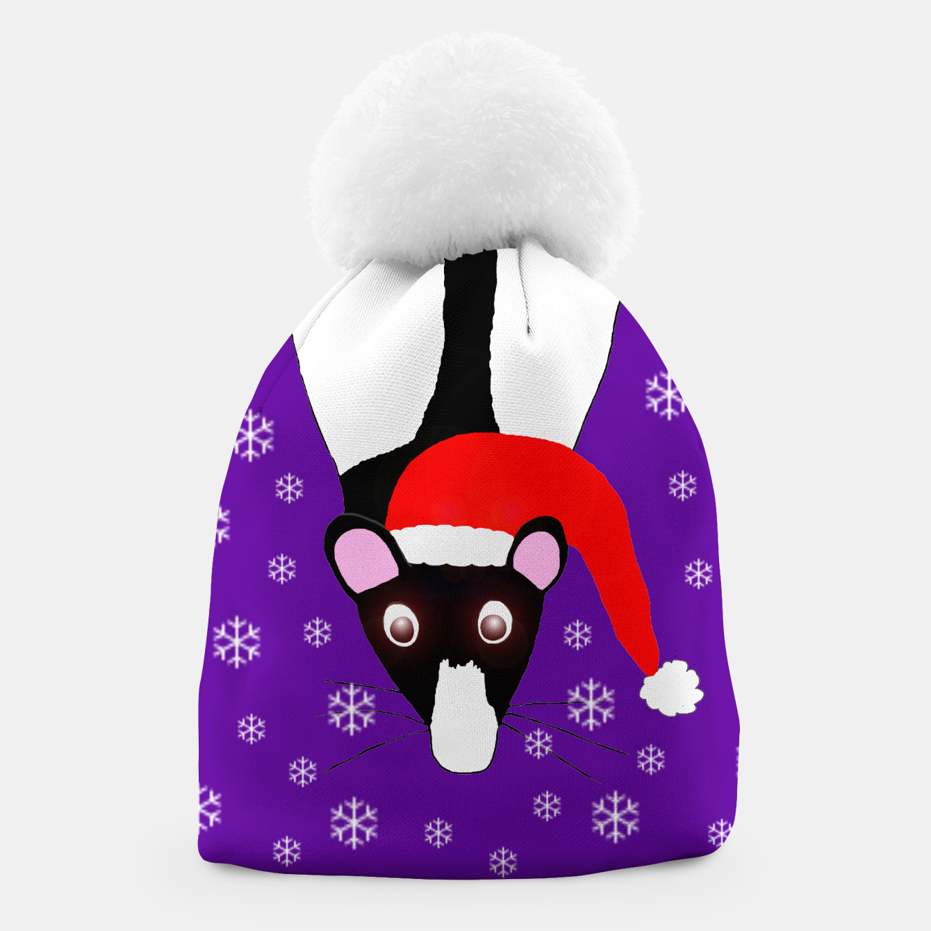 Image of Rat Christmas Beanie - Live Heroes