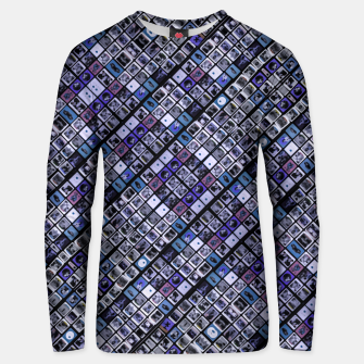 Thumbnail image of Modern Geometric Print Pattern Unisex sweater, Live Heroes