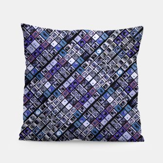 Thumbnail image of Modern Geometric Print Pattern Pillow, Live Heroes