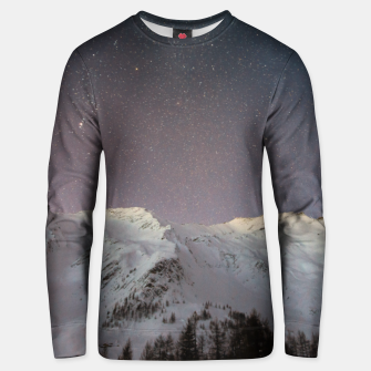 Thumbnail image of  Stars over the mountains Bluza unisex, Live Heroes