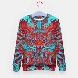 Thumbnail image of Bali Blue Kid's sweater, Live Heroes