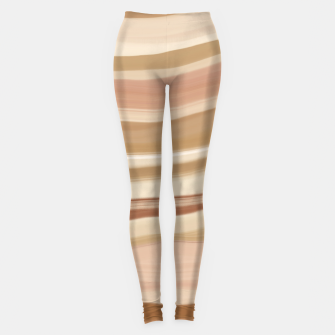 Thumbnail image of Striped desert dunes 5 Leggings, Live Heroes