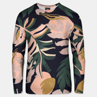 Miniatur Abstract nature tropical 34 Sudadera unisex, Live Heroes