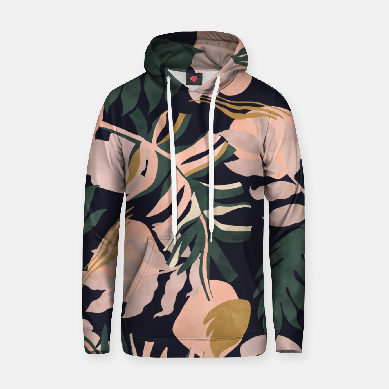 Image of Abstract nature tropical 34 Sudadera con capucha - Live Heroes