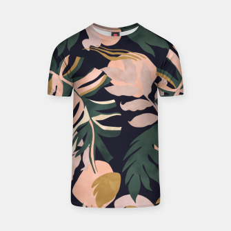 Miniatur Abstract nature tropical 34 Camiseta, Live Heroes