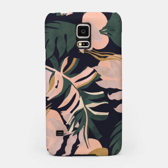 Miniatur Abstract nature tropical 34 Carcasa por Samsung, Live Heroes
