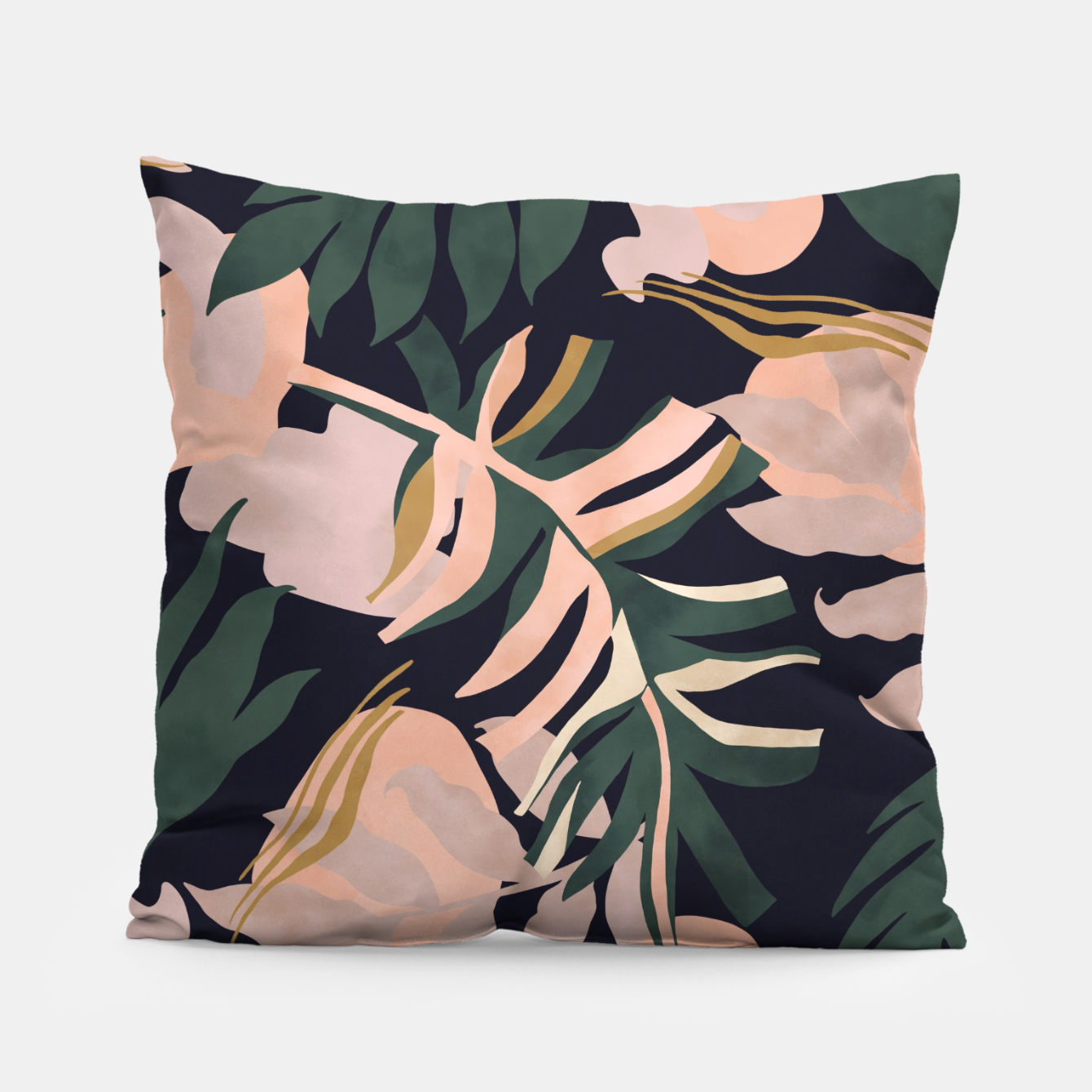 Image of Abstract nature tropical 34 Almohada - Live Heroes