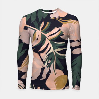 Miniatur Abstract nature tropical 34 Longsleeve rashguard, Live Heroes