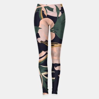 Miniatur Abstract nature tropical 34 Leggings, Live Heroes