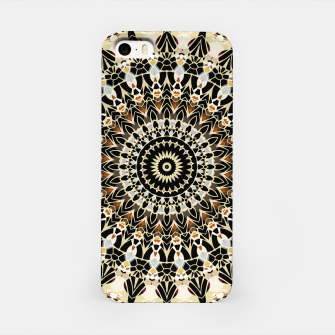 Thumbnail image of Black and Gold Filigree Mandala iPhone Case, Live Heroes
