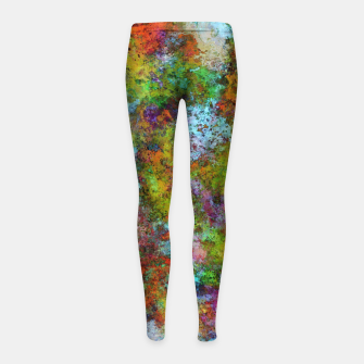Thumbnail image of A mystery gift Girl's leggings, Live Heroes