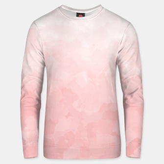 Thumbnail image of Shades of Soft Baby Pink, Abstract Painting Unisex sweater, Live Heroes