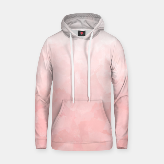 Thumbnail image of Shades of Soft Baby Pink, Abstract Painting Hoodie, Live Heroes
