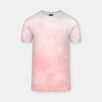 Miniature de image de Shades of Soft Baby Pink, Abstract Painting T-shirt, Live Heroes
