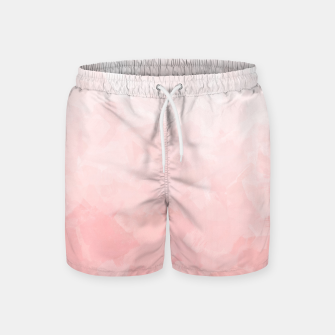 Thumbnail image of Shades of Soft Baby Pink, Abstract Painting Swim Shorts, Live Heroes