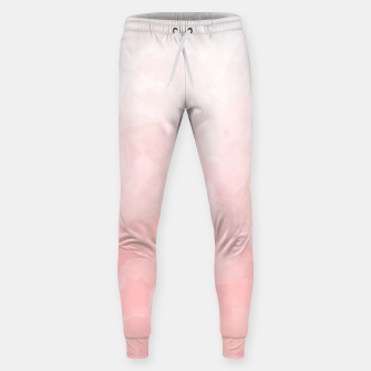 Thumbnail image of Shades of Soft Baby Pink, Abstract Painting Sweatpants, Live Heroes