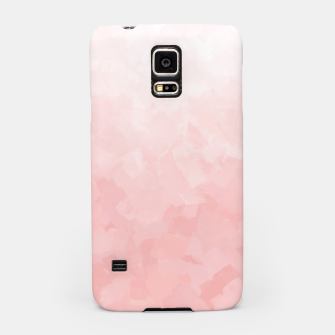 Thumbnail image of Shades of Soft Baby Pink, Abstract Painting Samsung Case, Live Heroes