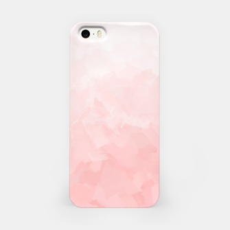 Thumbnail image of Shades of Soft Baby Pink, Abstract Painting iPhone Case, Live Heroes