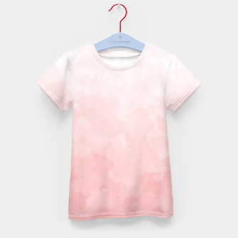 Thumbnail image of Shades of Soft Baby Pink, Abstract Painting Kid's t-shirt, Live Heroes