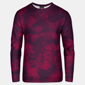 Miniaturka Marble Flames in Dark Red and Purple, Abstract Design  Unisex sweater, Live Heroes