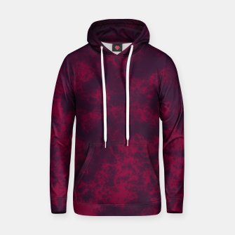 Miniaturka Marble Flames in Dark Red and Purple, Abstract Design  Hoodie, Live Heroes