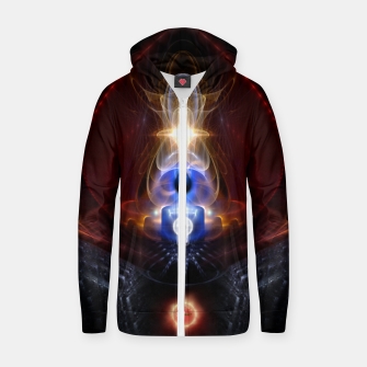 Miniatur The Majesty Of Ooleion Fractal Art Composition Zip up hoodie, Live Heroes