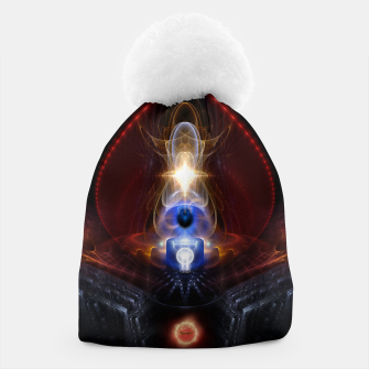 Miniatur The Majesty Of Ooleion Fractal Art Composition Beanie, Live Heroes