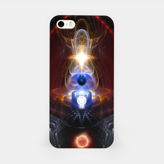 Miniatur The Majesty Of Ooleion Fractal Art Composition iPhone Case, Live Heroes