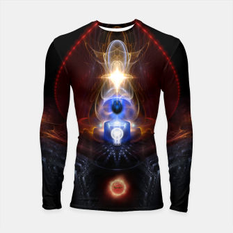 Thumbnail image of The Majesty Of Ooleion Fractal Art Composition Longsleeve rashguard , Live Heroes