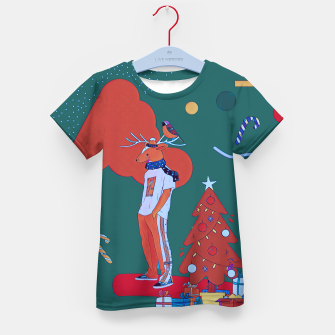 Thumbnail image of Christmas  Kid's t-shirt, Live Heroes