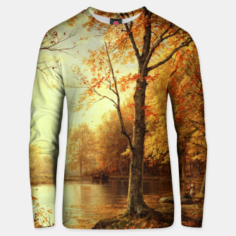 Thumbnail image of Indian Summer by William Trost Richards Unisex sweater, Live Heroes