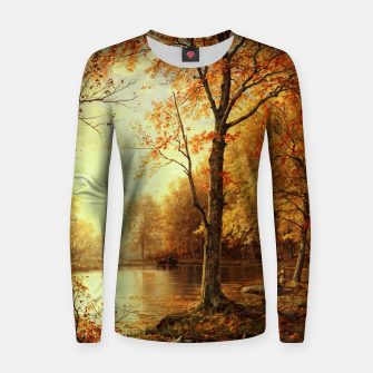 Thumbnail image of Indian Summer by William Trost Richards Women sweater, Live Heroes