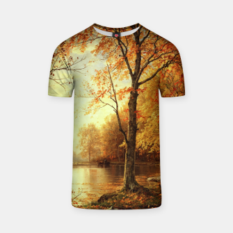 Thumbnail image of Indian Summer by William Trost Richards T-shirt, Live Heroes