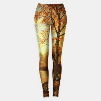 Thumbnail image of Indian Summer by William Trost Richards Leggings, Live Heroes