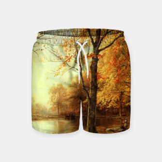 Thumbnail image of Indian Summer by William Trost Richards Swim Shorts, Live Heroes