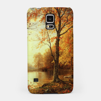 Thumbnail image of Indian Summer by William Trost Richards Samsung Case, Live Heroes