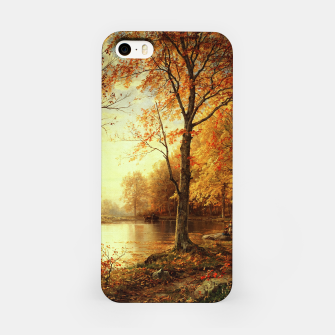Thumbnail image of Indian Summer by William Trost Richards iPhone Case, Live Heroes