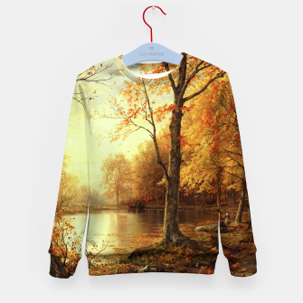Thumbnail image of Indian Summer by William Trost Richards Kid's sweater, Live Heroes
