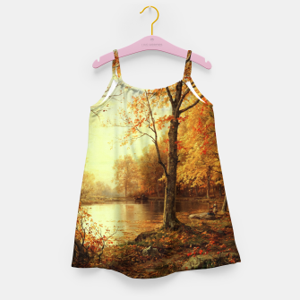 Thumbnail image of Indian Summer by William Trost Richards Girl's dress, Live Heroes