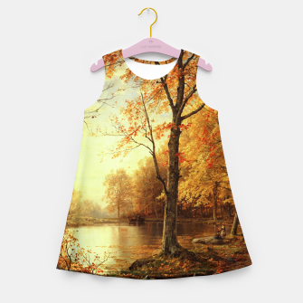 Thumbnail image of Indian Summer by William Trost Richards Girl's summer dress, Live Heroes