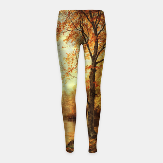 Thumbnail image of Indian Summer by William Trost Richards Girl's leggings, Live Heroes