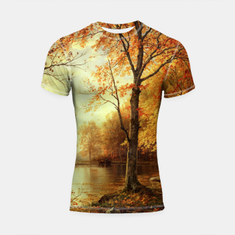 Thumbnail image of Indian Summer by William Trost Richards Shortsleeve rashguard, Live Heroes